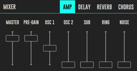 DRC Amp Mixer Pad