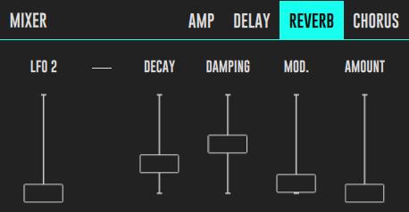 DRC Effect Reverb Panel