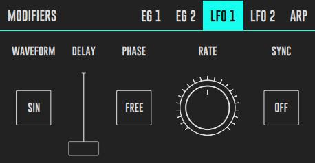 DRC LFO Panel