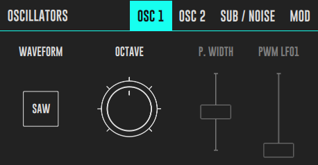DRC Oscillators Panel