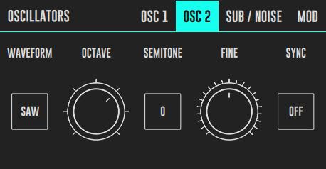 DRC Oscillator 2 Panel