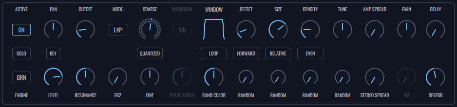 FRMS Layer Panel