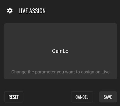 LK Midi Controller Ableton Live Parameter assign