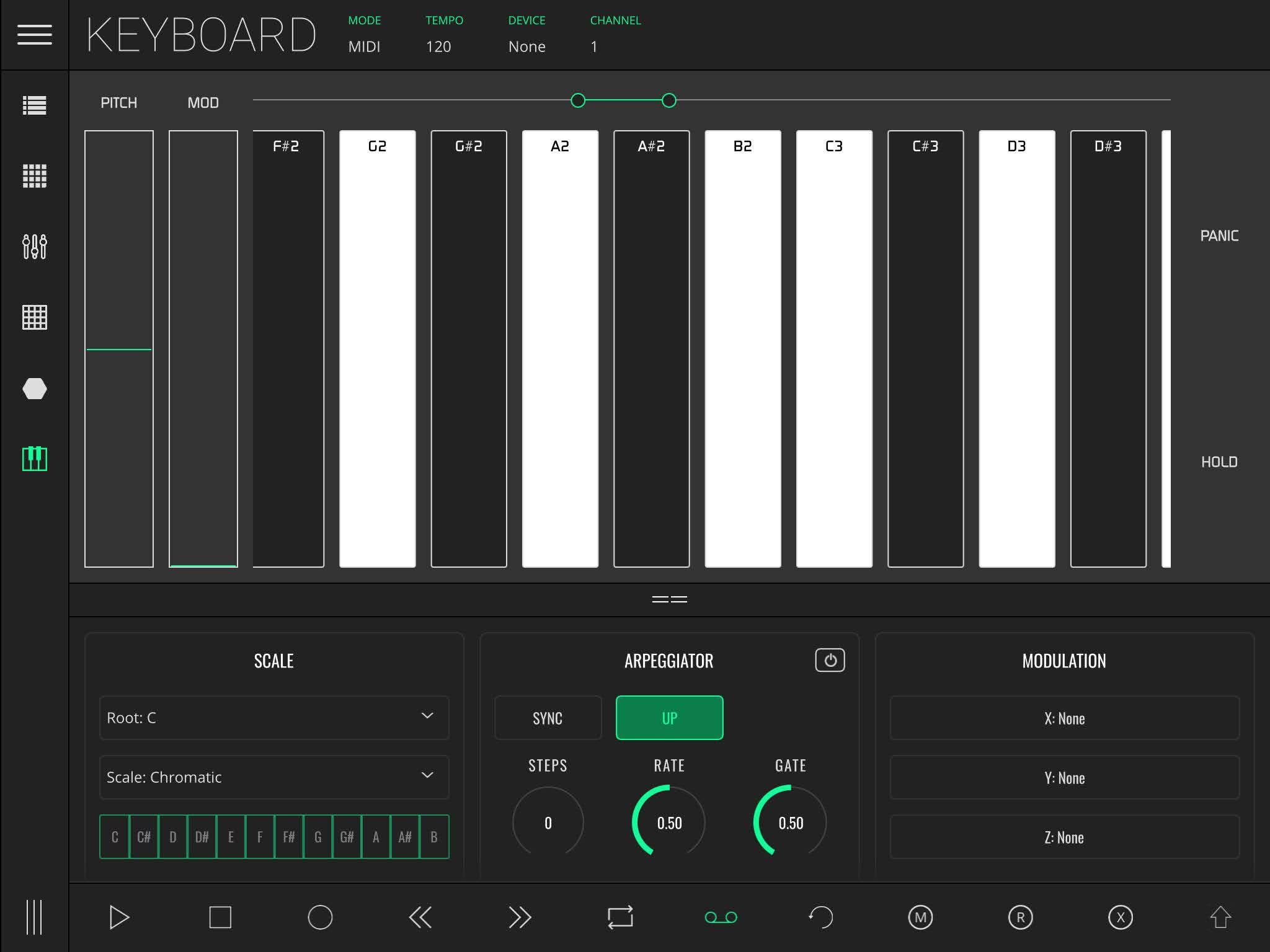 LK Keyboard Module Overview