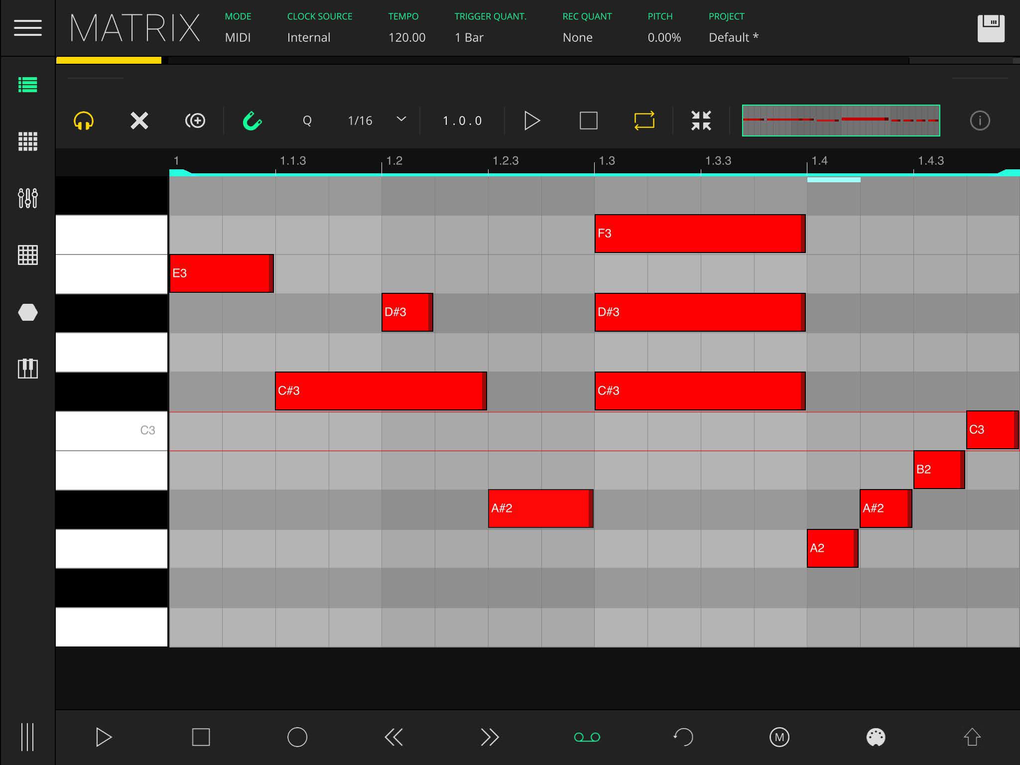LK Matrix Module clip composer