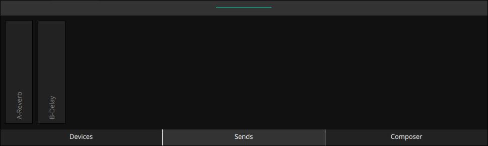 LK Matrix Module sends inspector of Ableton Live Sends